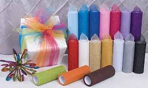 tulle spools 6 decorating rolls creative ideas wholesale supplier of satin