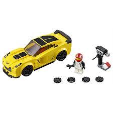 lego porsche minifig scale lego speed champions chevrolet corvette z06 75870 lego toys