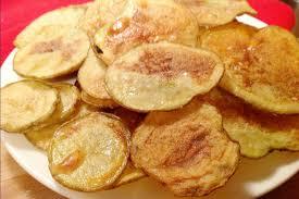 homemade baked potato chips vegan one green planet