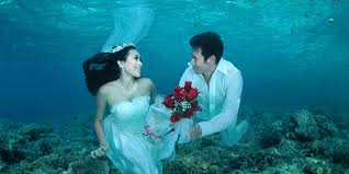 underwater wedding events festivals underwater wedding ceremony 2017