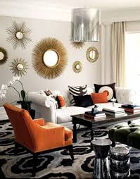 Living Room Ideas With Grey Sofas by Living Room Yellow Side Chair And Grey Sofa Plus Small Round