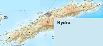 Map Of Greece Islands by Hydra Maps Greece Maps Of Hydra Island