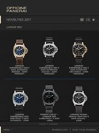 officine panerai catalogue 2017 on the app store