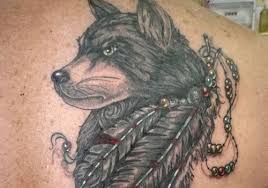 Wolf Indian Tattoos - 41 phenomenal wolf ideas creativefan