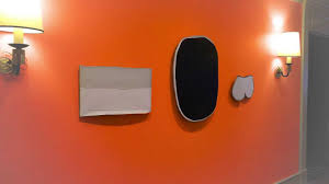 Orange Bedroom Walls Jeff Pollastro Hand Painted Waterborne Lacquer Wall Youtube