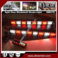 Led Emergency Dash Lights 48 Led Emergency Led Warning Strobe Visor Lamp Windshield Light