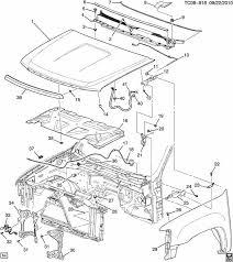 2007 Tahoe Interior Parts Gm 20763454 Hood Latch U0026 Switch Sensor 2007 2014 Silverado Sierra