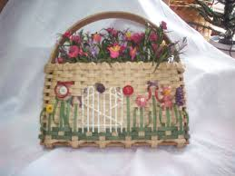 garden gate flowers garden gate flowers basket baskets from karen u0027s basket factory