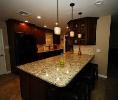 starmark maple chestnut cabinets with cambria bradshaw quartz and