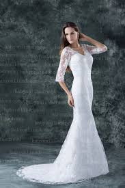 white wedding dresses bridal gowns 2016 new lace sheath column