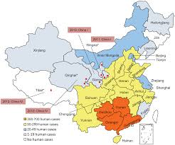 Tianjin China Map Rabies Cases In The West Of China Have Two Distinct Origins