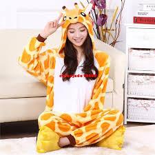onsie giraffe pajamas animal onesies flannel animal