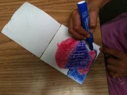 scratch foam printing with watercolor markers k 6 artk u2013 6 art