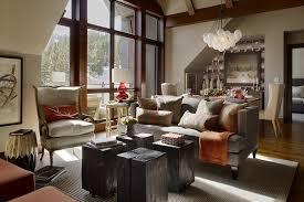 Interior Design What Do They Do by What Do Classy Leather Chairs Wood Grain Tables And A Gray Tweed