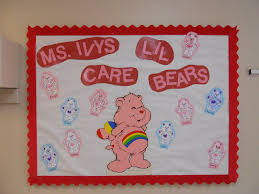 Valentine S Day Decoration Ideas For The Classroom by Care Bear Classroom Theme Valentine U0027s Day Bulletin Board Idea