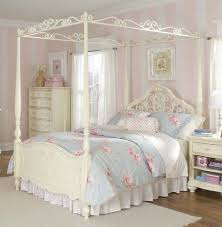 small bed canopy bed furniture wardrobe with bookcase cone white glass burly