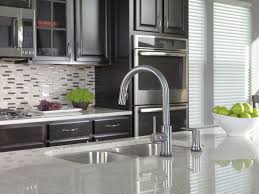 delta hands free kitchen faucet delta savile stainless 1handle pulldown kitchen faucet bathroom