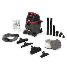home depot black friday vacuum cleaners ridgid 16 gal 5 0 peak hp wet dry vac wd1640 the home depot