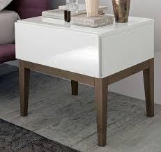 White Gloss Side Table 14 Best White Gloss Bedside Table Images On Pinterest White