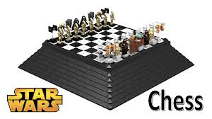 Diy Chess Set by Lego Ideas Star Wars Chess Set