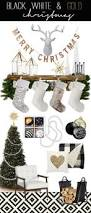 Black White And Gold Living Room by Best 25 Black White And Gold Christmas Ideas On Pinterest Black