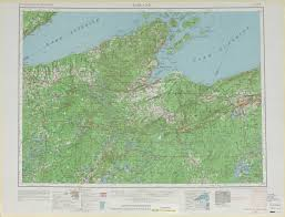 Maps Wisconsin by Ashland Topographic Maps Wi Mi Mn Usgs Topo Quad 46090a1 At 1