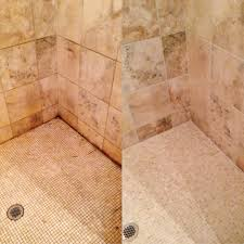 Cleaning Grout In Shower Blue Shower Clean And Seal Northwest Grout Works