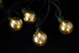 mercury glass string lights glass globe string lights 10ct 9ft green cord