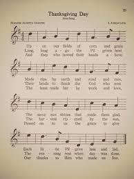 thanksgiving song printable antique thanksgiving