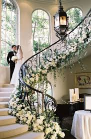 Floral Decor Best 20 Wedding Staircase Decoration Ideas On Pinterest
