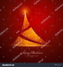 christmas tree design golden sparkles on stock vector 530180710