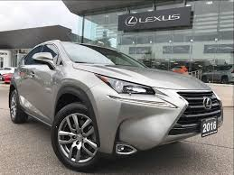 lexus nx awd button used 2016 lexus nx 200t premium pkg awd backup cam leather sunroof
