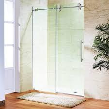 48 Inch Glass Shower Door Vg6041stcl4874 In Clear Stainless Steel By Vigo In Scottsdale Az