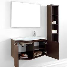 Virtu Bathroom Accessories by Virtu Usa Roselle 36 Single Bathroom Vanity Set In Walnut