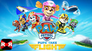 paw patrol pups flight nickelodeon ios android