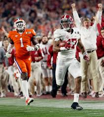 alabama beats clemson 45 40 to win college football chionship
