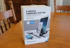 gadget review 4 device charging station zinc moon