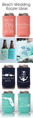 cheap wedding koozies cool summer wedding ideas with personalized koozie favors favors