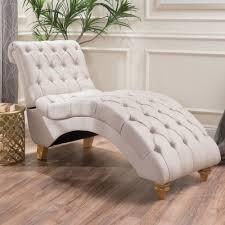 Chaise Lounge Chair Bellanca Fabric Tufted Chaise Lounge Chair Ebay