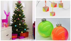 30 chic neon diy trees and ornaments diy