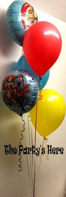 airwalker balloons delivered a big delivery bouquet airwalker balloon for a lucky boy