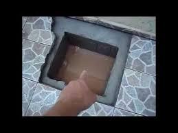 Muito Como fazer uma tampa de concreto maciço para caixas de inspeção de  &BS69