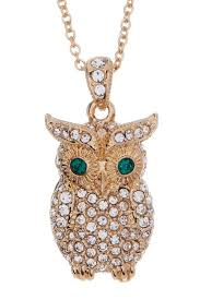 crystal owl pendant necklace images Nadri crystal owl pendant necklace nordstrom rack jpg