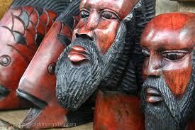 jamaican wood sculptures pictures of jamaica 0038 wood carving souvenirs rasta faces
