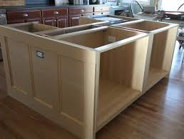 how to make a kitchen island with base cabinets kitchen track