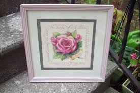 home interiors and gifts framed home interiors framed floral wall plaque by upcycledcottagedecor