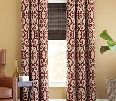 Maroon Curtains For Living Room Ideas Bedroom Or Living Room Great Room Curtains In Burgundy Color With