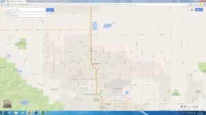 Us Desert Map Lancaster California Map