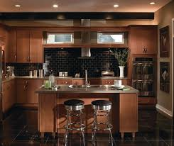 Kitchen Pictures With Maple Cabinets Rainier Slab Cabinet Doors Homecrest Cabinetry