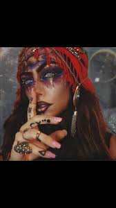 Gypsy Makeup Tutorial Halloween by 9 Best Halloween 2k17 Images On Pinterest Gypsy Makeup